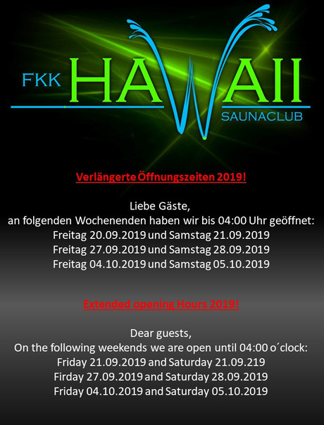 saunaclub hawaii ingolstadt club Fkk