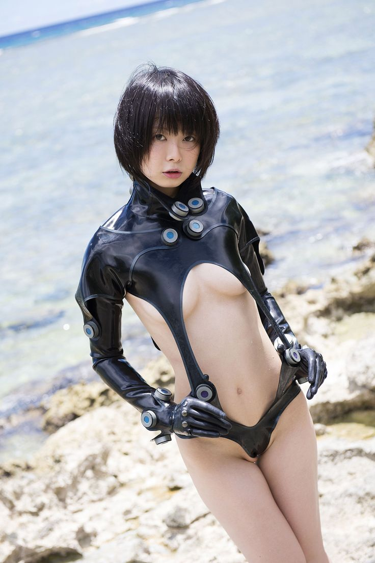catsuit Japanese latex