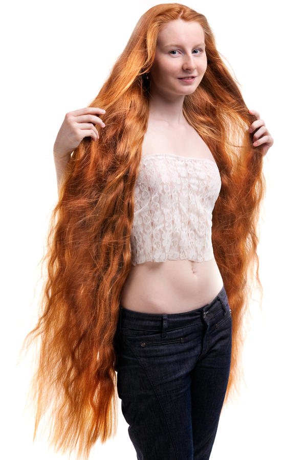 hair anal Red