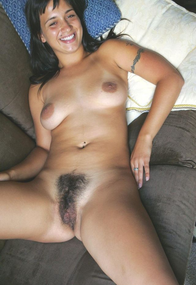Black haired pussy