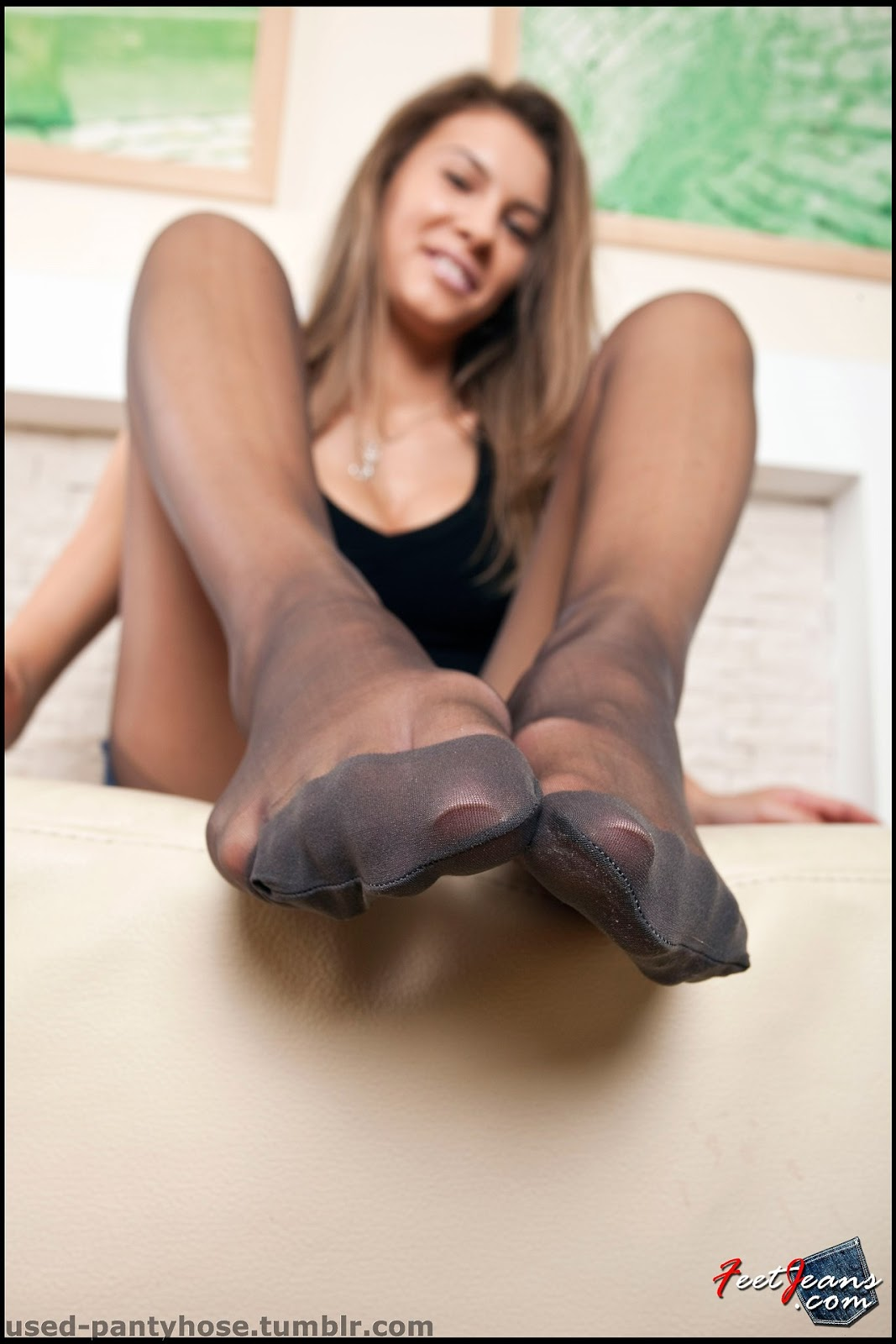 stocking feet Nylon